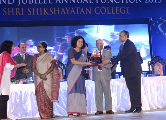 Seamonti Chaudhuri shares her feelings after winning the coveted Saraswati Trophy for the Year 2014-15